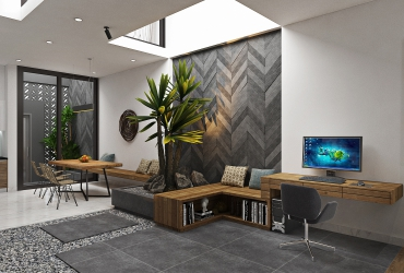 Thiết kế nội thất căn hộ Anh Tuấn